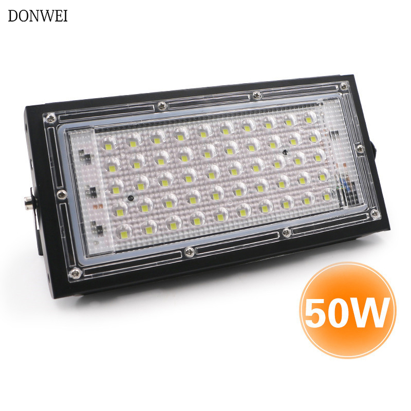 50W Led Flood Light AC 220V 230V 240V Outdoor Floodlight Spotlight Waterproof IP65 LED Street Lamp Landscape Lighting