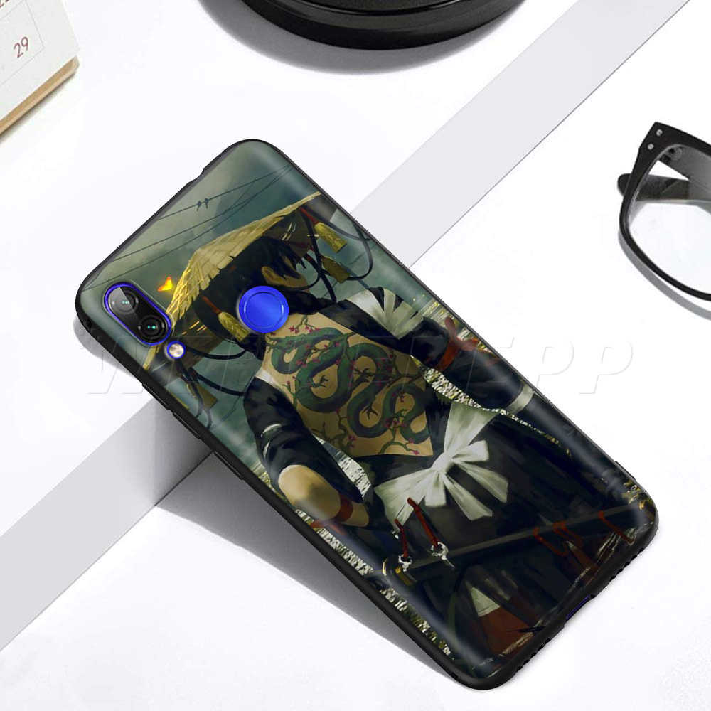 Jepang Samurai Ninja Case untuk Xiaomi Redmi 4A 4X5 5A 6 6A 7 7A S2 Go k20 PRO PLUS Prime 8T