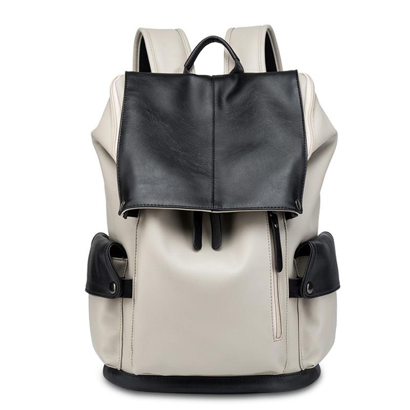 2020 Men/woman canvas Backpack Male Large Capacity Fashion Laptop Men - Backpacks - Photo 2