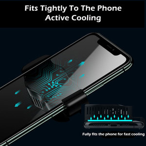 Image 2 - P20 Phone Cooler Gamer Mobile Phone Fan Semiconductor Cooling Pad Universal Cell Smartphone Cooler Fan Game Cooling Cap