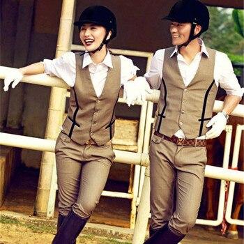 Fashionably Designed Horse Riding Cotton Pants For Women & Men  1