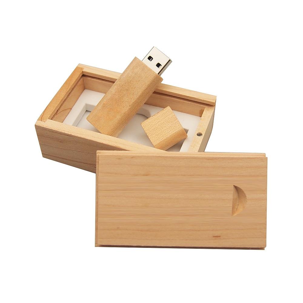 Lot 10 32GB Wooden USB Flash Drive Photography 32G Wood Pen Stick Wedding Memory