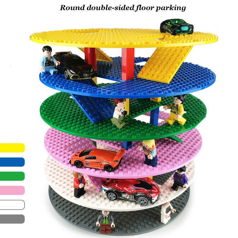 6*10 كتل تجميع البلاستيك لوحات قاعدة أرقام مدينة اللعب الكلاسيكية اللبنات baseدر لعب للأطفال هدية اكسسوارات