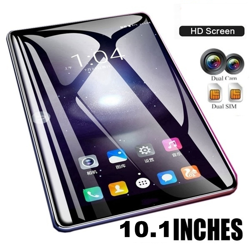 2019 Tablet 10.1 Polegada Dez Núcleo 4G Rede WiFi Tablet PC Android 7.1 Arge 2560*1600 IPS Tela dual SIM dual Câmera Traseira 13.0 MP