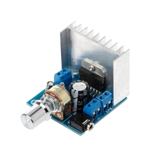 AC/DC 12V TDA7297 2x15W Digital Audio Amplifier DIY Kit Dual-Channel Module 2 dual channel tda2030a amplifier module in ac dc power supply can be pcb empty plate parts products