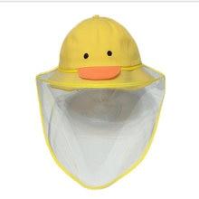 Детская шапка в рыбацком стиле АА с прозрачным чехлом защита