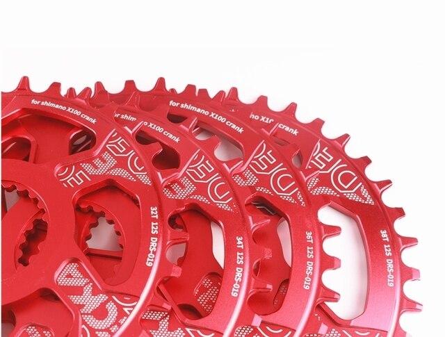 DECKAS Center Lock 12 Speed Chainring Round For Shimano M7100 M8100 32 34 36 38T