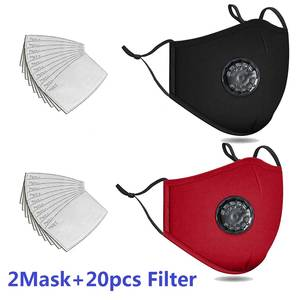DUST-FILTER Bibs Cycling Sports Washable Cotton ACTIVATED-CARBON-FILTER Running 20pcs