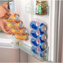 Контейнер для хранения кухонного холодильника, кухонные аксессуары, кола, напитки, компактная отделка, четыре органайзера для чехлов, конте...