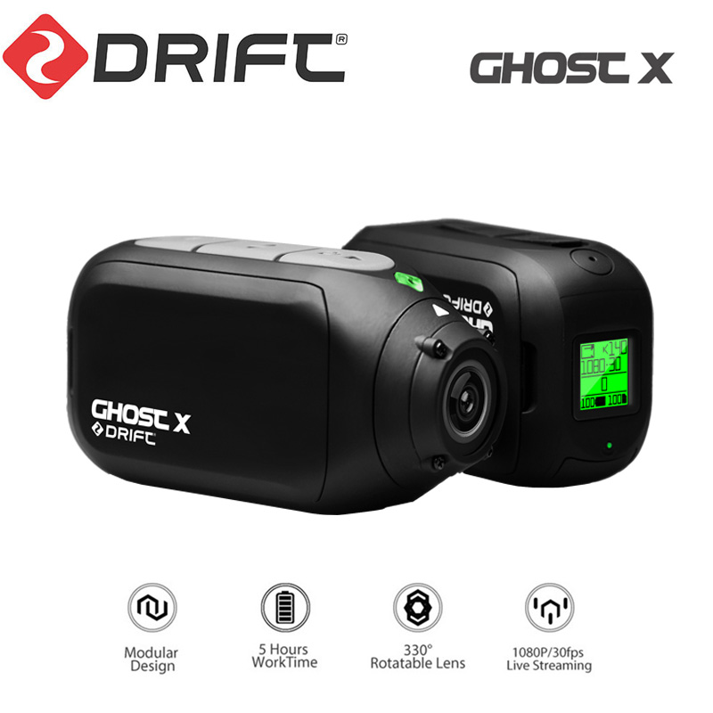 Drift Ghost X Action Camera DVR 1080p Full Hd Wifi APP Motorcycle Bicycle Body Portable Sport Video Cam with Bike Bicycle