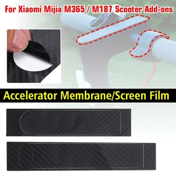 For Xiaomi Mijia M365 / M187 Electric Scooter Universal Accelerator Screen Protective Case Screen Film Accelerator Membrane image