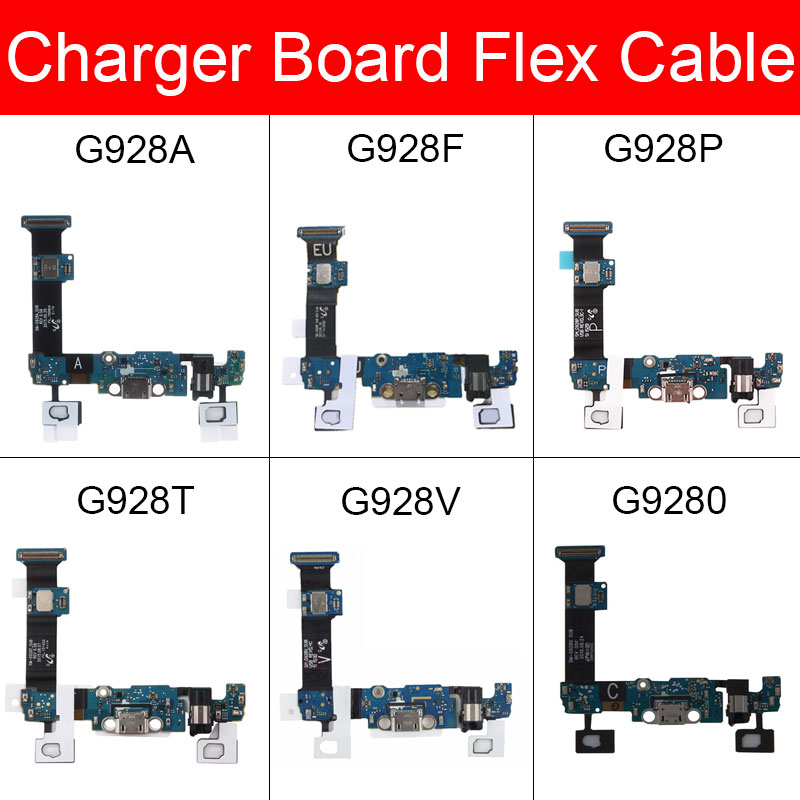 Usb Charger Board For Samsung Galaxy S6 Edge Plus G928A G928F G928P G928T G928V G9280 USB Charging Jack Port Connector Board