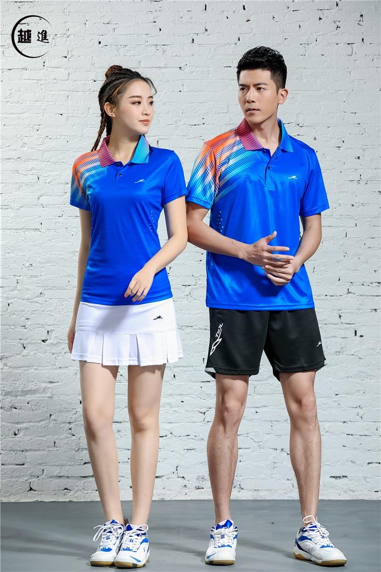 V-образная горловина, короткий рукав, форма для настольного тенниса, один топ для мужчин и женщин, летняя одежда для учеников средней школы, студентов средней школы