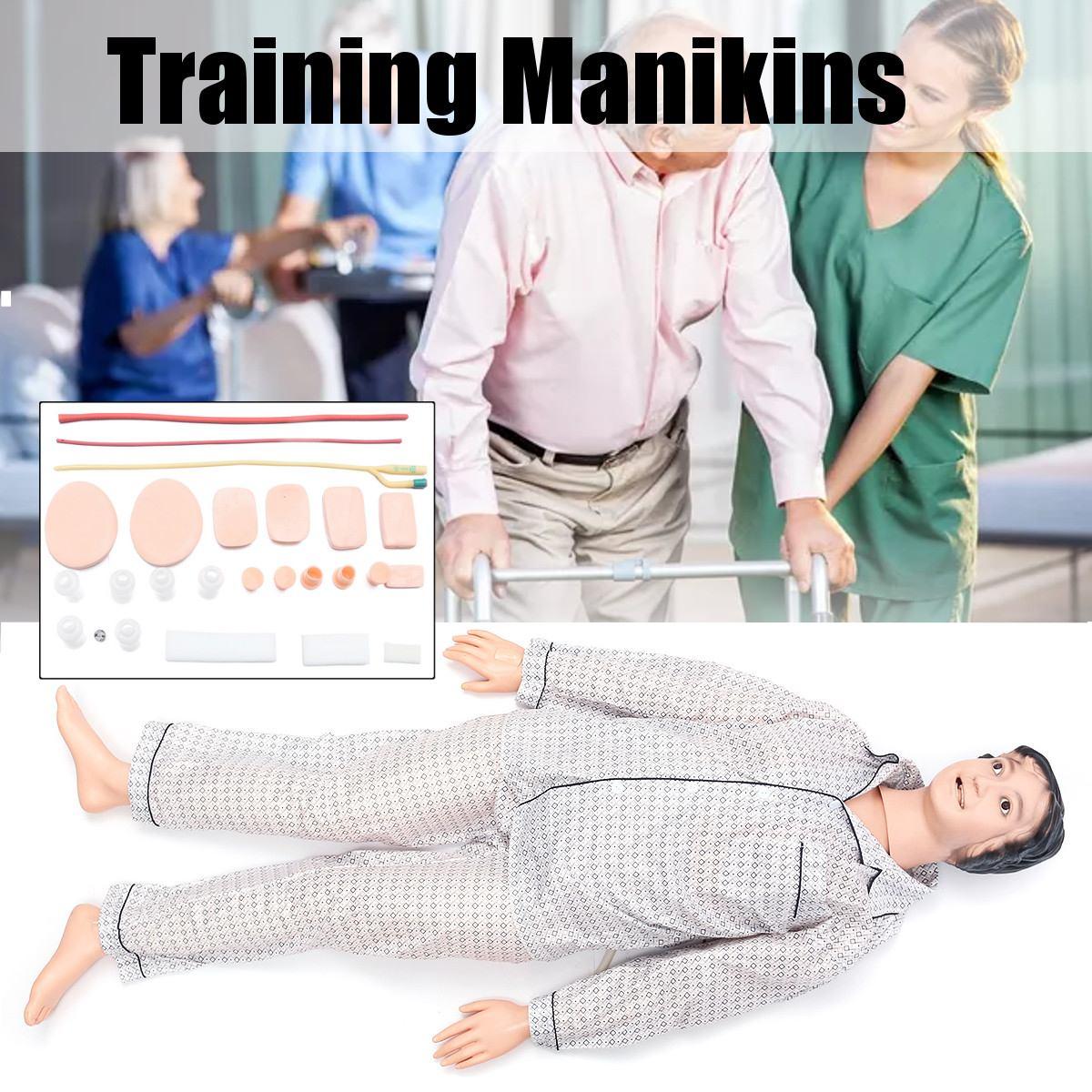 Multi-functional Female Combination Nursing Training Manikin Model Mannequin Patient Care Simulator Nursing Mannequin