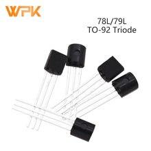 Transistor Voltage-Regulator 78L05 50pcs TO-92 78L12 79L06 79L15 Triodes