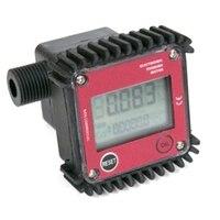 TOP! K24 Small Flow Gear Flowmeter 4 Points 19mm External Thread Fuel Water Urea Liquid Meter Flow Meter|Flow Sensors| |  -