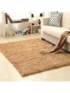 Blanket Carpet Rugs Bedside-Mat Hair Coffee-Table Bedroom Washed Silk Plush Living-Room