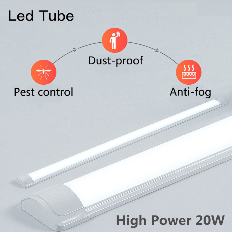 T8 T5 LED Tube Light 220V 9W 10W 20W Led Light Tube 600mm 60cm SMD2835 5730 Home Living Room Kitchen Light Cold Warm White Light