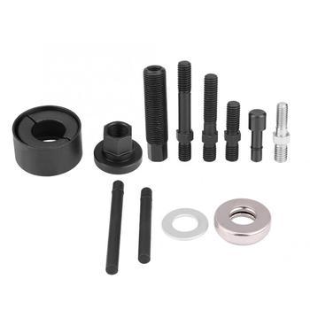 12pc ręczne narzędzie do usuwania koła pasowego ściągacz Remover instalator zestaw dla GM Chrysler Ford wspomaganie kierownicy generatory naprawa samochodów