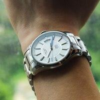 Reef tiger/rt relógio esportivo com grande data e super luminoso aço inoxidável relógios para homem relógio automático rga166