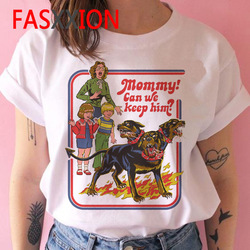 80 youth in the 90 s nostalgia retro summer T-shirt ms leisure cartoon printing short sleeve T-shirt the forces of evil