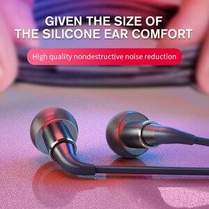 Оригинальные проводные наушники в ухо, наушники для телефона, Графен с микрофоном, шумоподавляющие наушники, HiFi гарнитура для всех телефоно...