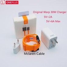 Carregador warp original oneplus 30 w, cabo adaptador de carga da ue de 30 w, concha rápida para oneplus 7t pro 6t 6 5t 5
