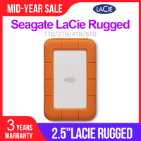 Seagate Lacie Rugged 1 Tb 2 Tb 4 Tb 5 Tb USB-C En Usb 3.0 Portable Hard Drive 2.5