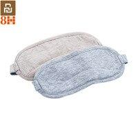 Original Youpin 8H Auge maske Reise Büro Schlafen Rest Hilfe Tragbare Atmungsaktive Schlaf Brille Abdeckung Fühlen kühles eis Baumwolle