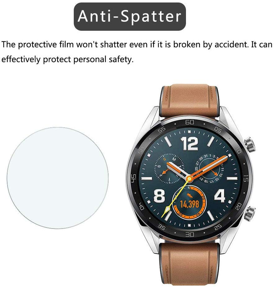 9H Tempered Glass For Huawei Watch GT /Watch 2 Pro For Honor Watch Magic /dream HD Anti-Scratch Anti-Fingerprints Tempered Film
