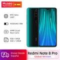 10000072481728 - Versión Global Xiaomi Redmi Note 8 Pro 64GB / 128GB ROM 64MP Quad cámaras MTK Helio G90T Smartphone 4500mAh 18W QC 3,0 UFS 2,1