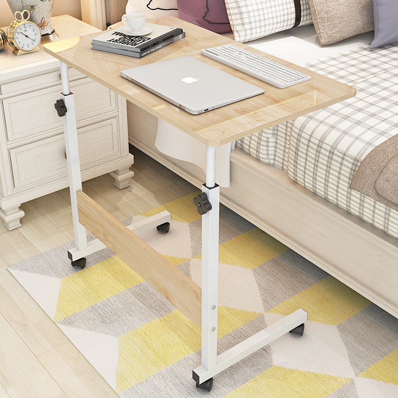 Lazy People's Bedside Notebook Computer Table Bed Simple Folding Mobile Small Desk Simple Desk