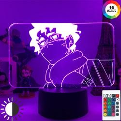 Anmie Haikyuu Light 3d Lamp for Kids Child Bedroom Decor Night Light Birthday Gift Manga Gadget Lamp Room Decoration Lights