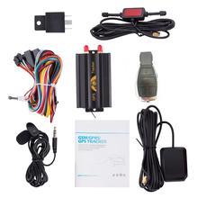 GPS 3G 2G TK103B 103A GSM/GPRS/GPS oto araç araba GPS takip cihazı takibi cihazı ile uzaktan kontrol anti hırsızlık araba Alarm sistemi