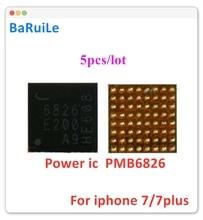 بارويلي 5 قطعة BBPMU_RF PMB6826 6826 IC آيفون 7 و 7 Plus BASEBAND PMIC قطع غيار رقاقة الطاقة