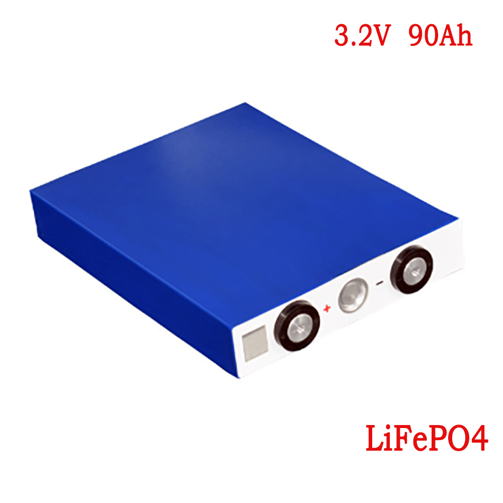 For Motorcycle Electric Car Motor <font><b>Battery</b></font> <font><b>3.2V</b></font> 90Ah <font><b>LiFePO4</b></font> Phospha Large Capacity <font><b>Batteries</b></font> image