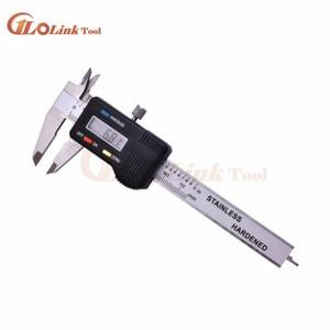 Image 4 - Mini kieszeń suwmiarka cyfrowa ze stali nierdzewnej 50mm 70mm 100mm elektroniczny suwmiarka suwmiarka Gem grubościomierz