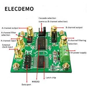 Image 2 - Módulo de filtro programable MAX262, condensador conmutado, banda de paso, Highpass, frecuencia central programable Lowpass