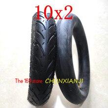 Alta qualidade 10*2 pneu 10x2 54 152 tubo interno do pneu se encaixa scooter elétrico carrinho de bebê carrinho de criança crianças bicicleta schwinn