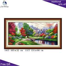 Hadiah Anda Ambilight Needlepoint F093 14CT 11CT Dihitung dan Dicap Dekorasi Rumah Ambilight Bordir Cross Stitch Kit(China)