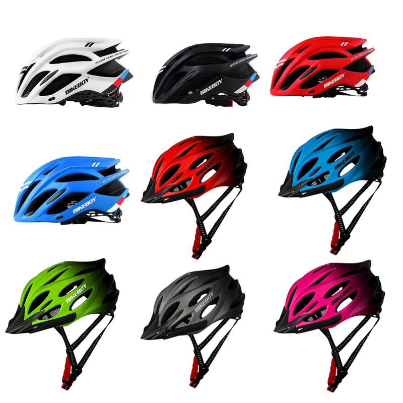 Ultralight Bike Bicycle Helmet Unisex Adjustable Cycling Sports Safety Cap Outdoor Intergrally-molded MTB Mountain Bike Helmet 1