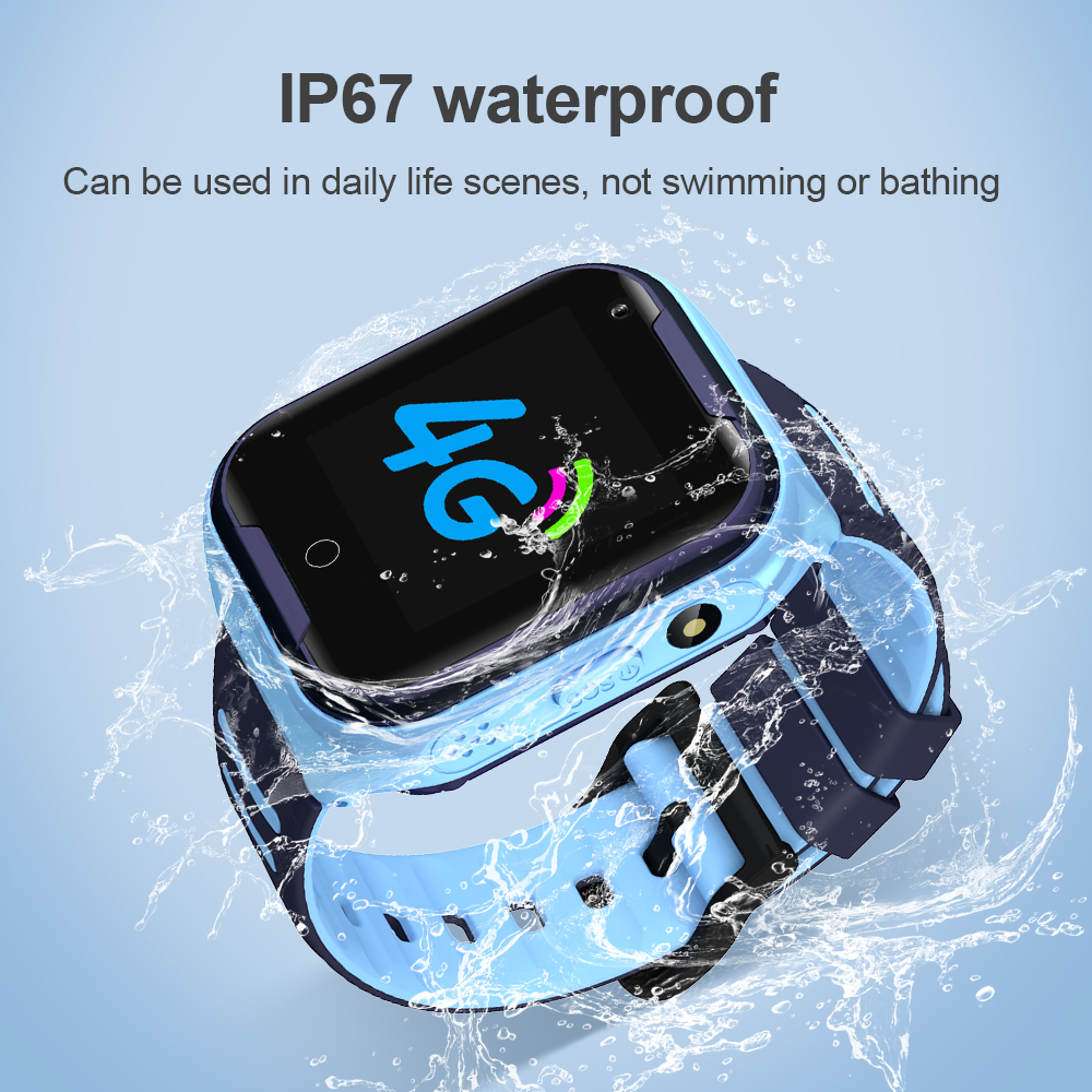 lowest price Kids Smart Watch 4G GPS Waterproof 650Mah Big Battery WIFI Remote Monitoring Video Call Smartwatch For Children