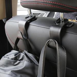 1pc Universal Car Seat Hook Bearing 20kg Headrest Hanger Organizer Hook Handbag Purse Cloth Storage Holder Clip car accessories