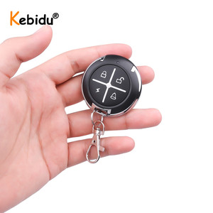Image 2 - Kebidu Copy Code 433MHz Remote Control 4 Buttons Mini Wireless Transmitter Key Fob For Car Garage Door 433.92 Mhz RF Controller