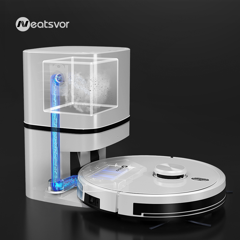 Ordensvor s600 robô aspirador de pó de navegação a laser 4000pa automático pó recuperação vassoura molhado lavar tapete mais limpo para casa