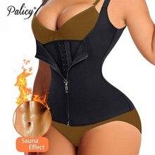 Bodysuit Shapewear Strap Waist-Cincher-Tank Slimming Fat-Burning Tummy Plus-Size Womens