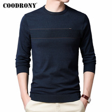 COODRONY Brand Spring Autumn New Arrival Sweater Men Cotton Knitwear Pullover Men Clothes Fashion Casual O-Neck Pull Homme C1035