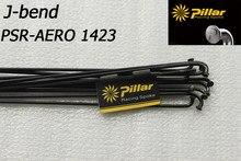 Pilier de course PSR aero 1423, rayons plats courbés en j, 6.5g, pièces de 180mm à 310mm