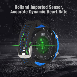 Image 3 - Smart GPS Laufen Sport Uhr mit farbe display und handgelenk basierend herz rate outdoor 5ATM Wasserdichte EZON E2