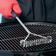 Grill-Accessories Bbq-Brush Cleaning-Brushes Clean-Tool Barbecue-Grill Non-Stick Stainless-Steel